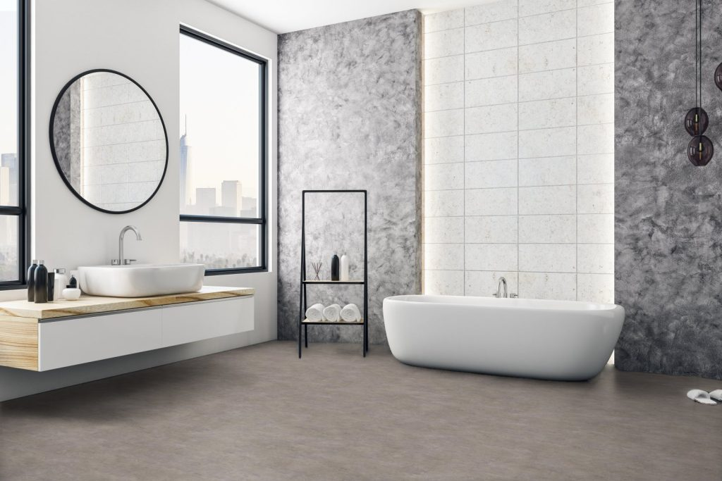 Expona Flow PUR 9859 Dark Industrial Concrete